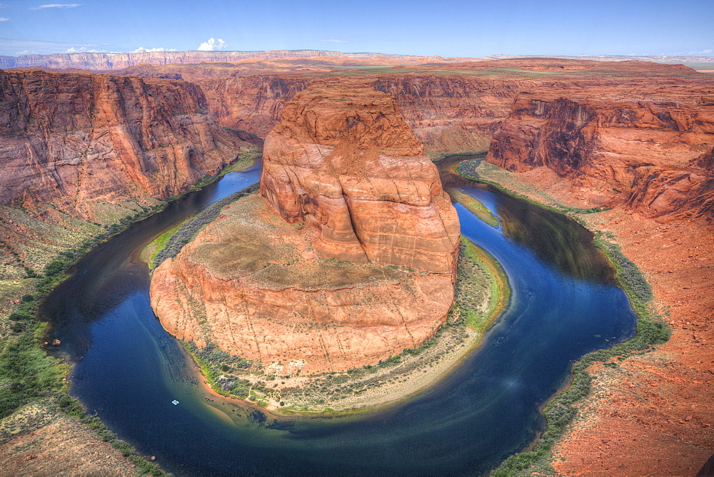 Horseshoe Bend, near Page, Arizona, United States of America, North America