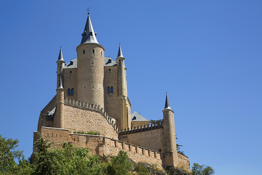 Alcazar, Segovia, UNESCO World Heritage Site, Castile y Leon, Spain, Europe - 801-1884
