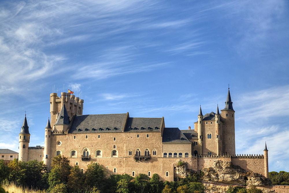 Alcazar, Segovia, UNESCO World Heritage Site, Spain