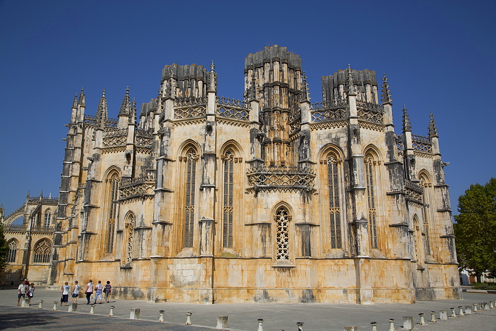 The Dominican Abbey of Santa Maria da Vitoria, UNESCO World Heritage Site, Batalha, Leiria District, Portugal, Europe