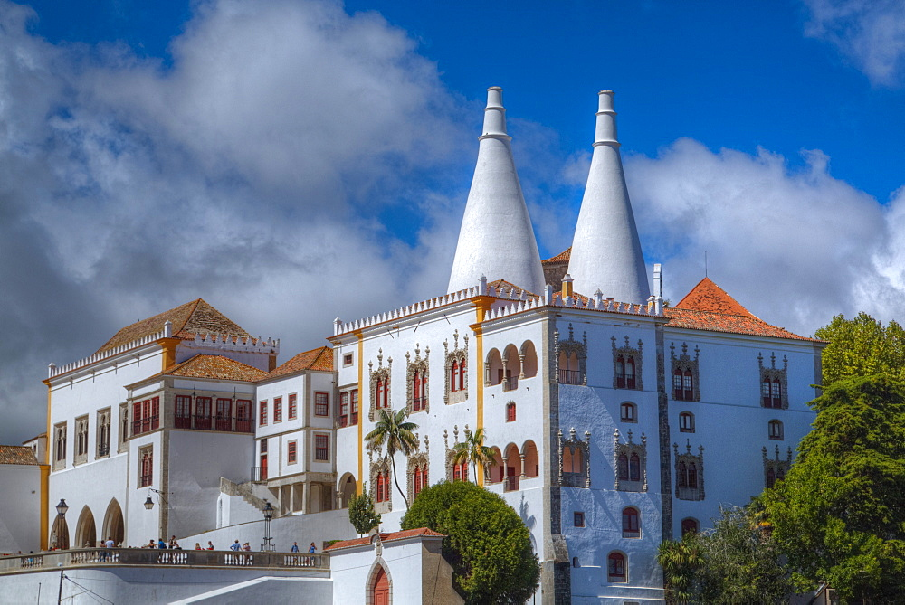 National Palace of Sintra, Sintra, UNESCO World Heritage Site, Portugal, Europe