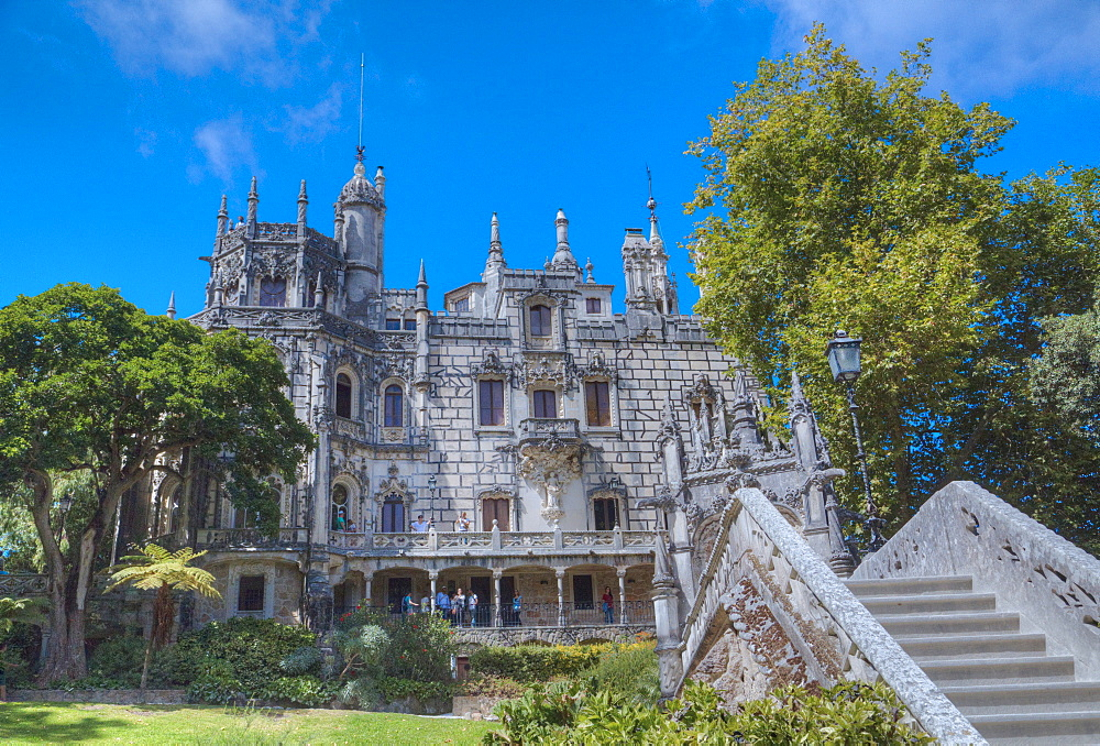 Main House, Quinta da Regaleira, Sintra, UNESCO World Heritage Site, Portugal, Europe