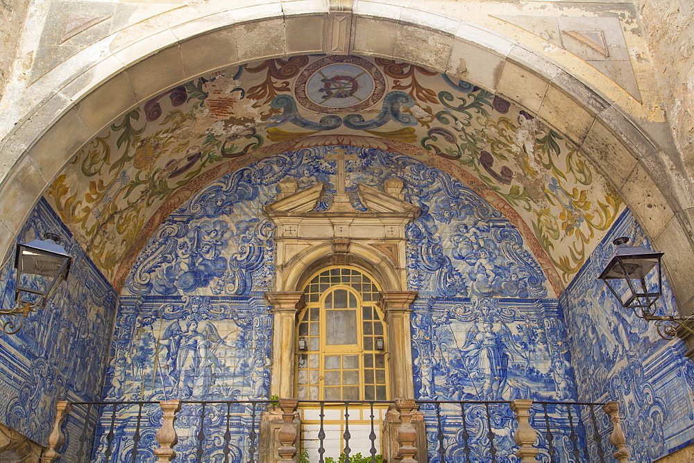 Oratory of Our Lady of Piety, Town Gate, Obidos, Portugal, Europe