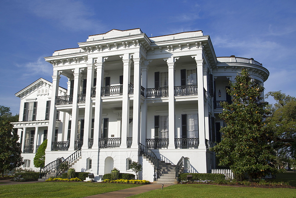 Nottoway Plantation, Built during the 1850s, Near White Castle, Louisiana, USA