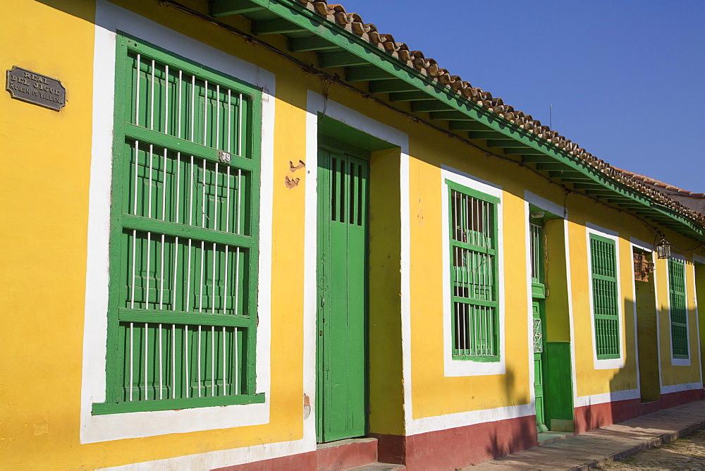 Traditional Windows and Doorways, Trinidad, UNESCO World Heritage Site, Sancti Spiritus, Cuba