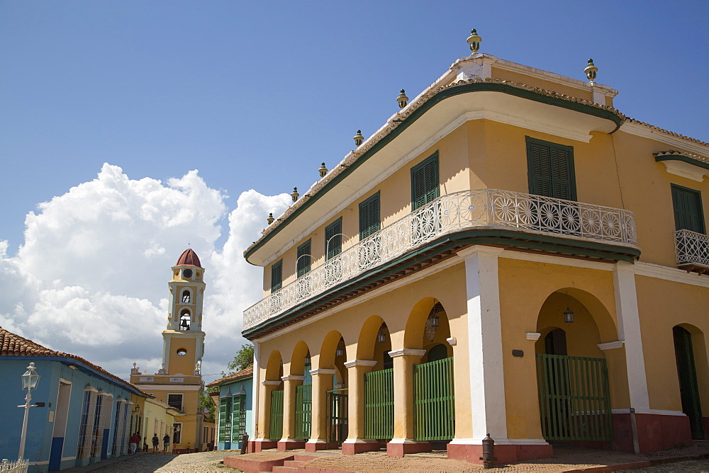 Palacio Brunet (also called Romantic Museum), Trinidad, UNESCO World Heritage Site, Sancti Spiritus, Cuba - 801-2044