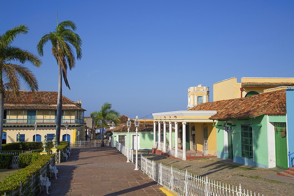 Plaza Mayor, Trinidad, UNESCO World Heritage Site, Sancti Spiritus, Cuba