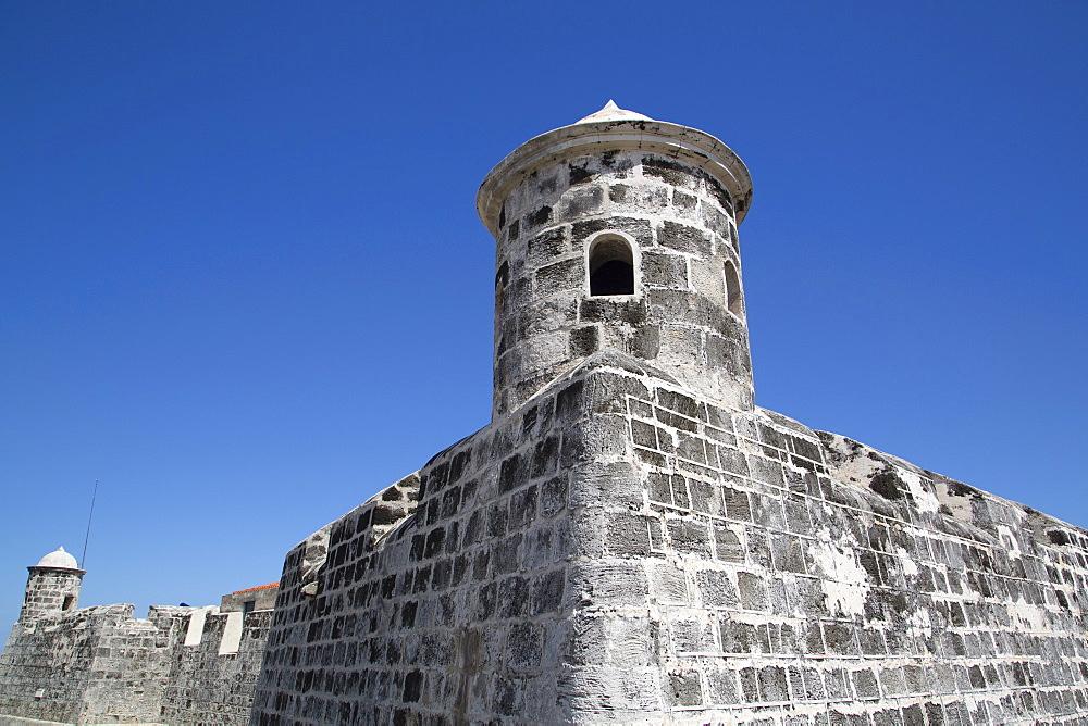 Castillo de San Salvador de la Punta, Central Habana, Havana, Cuba, West Indies, Central America