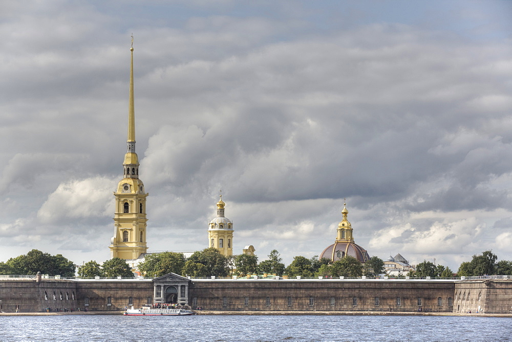 Peter and Paul Fortress, St. Petersburg, UNESCO World Heritage Site, Russia, Europe