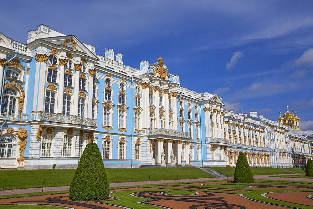 Catherine Palace, Tsarskoe Selo, Pushkin, UNESCO World Heritage Site, Russia, Europe