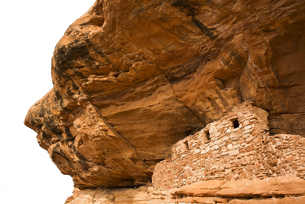 Four Windows Ruins, Ancestral Pueblo, up to 1000 years old, Lower Fish Creek, Bears Ears National Monument, Utah, United States of America, North America