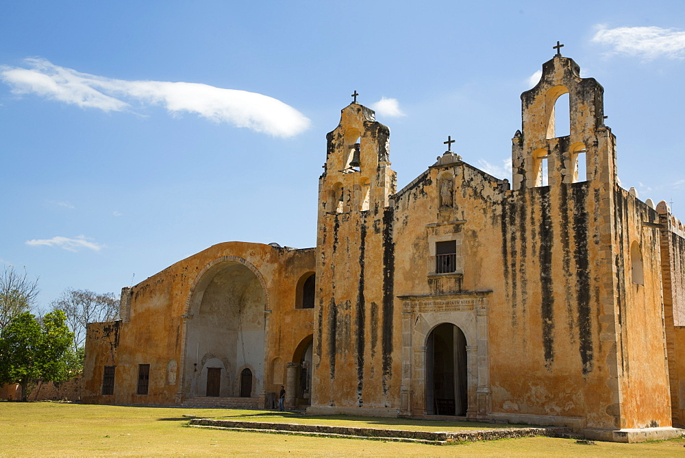 Former Convent San Miguel Arcangel, founded 1541 AD, Route of the Convents, Mani, Yucatan, Mexico, North America