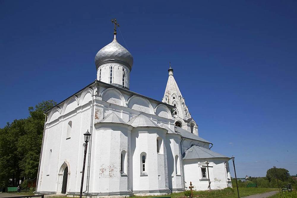 Cathedral, Holy Trinity Danilov Monastery, Pereslavl-Zalessky, Golden Circle, Yaroslavl Oblast, Russia - 801-2358
