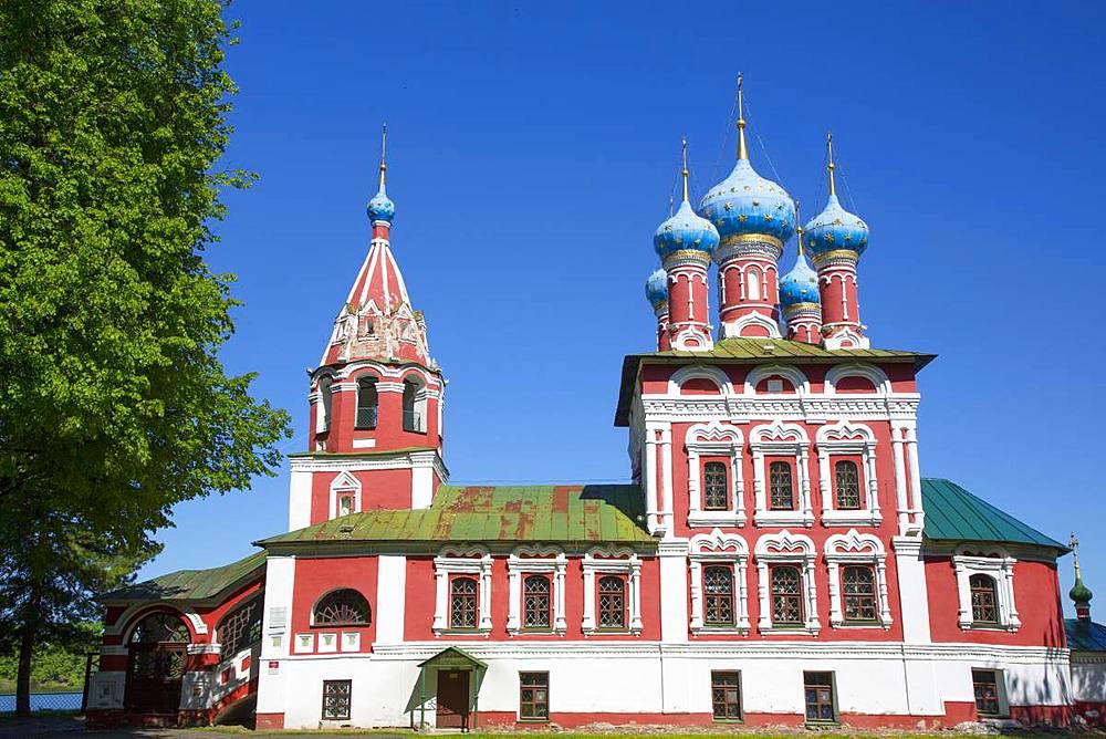 Church of Prince Demitry the Martyr, Uglich, Golden Ring, Yaroslavl Oblast, Russia - 801-2361