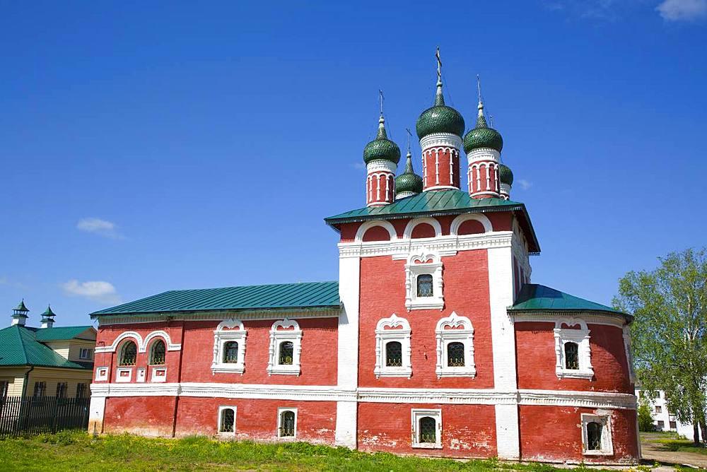 Smolensk Church, Epiphany Monastery, Uglich, Golden Ring, Yaroslavl Oblast, Russia, Europe - 801-2365