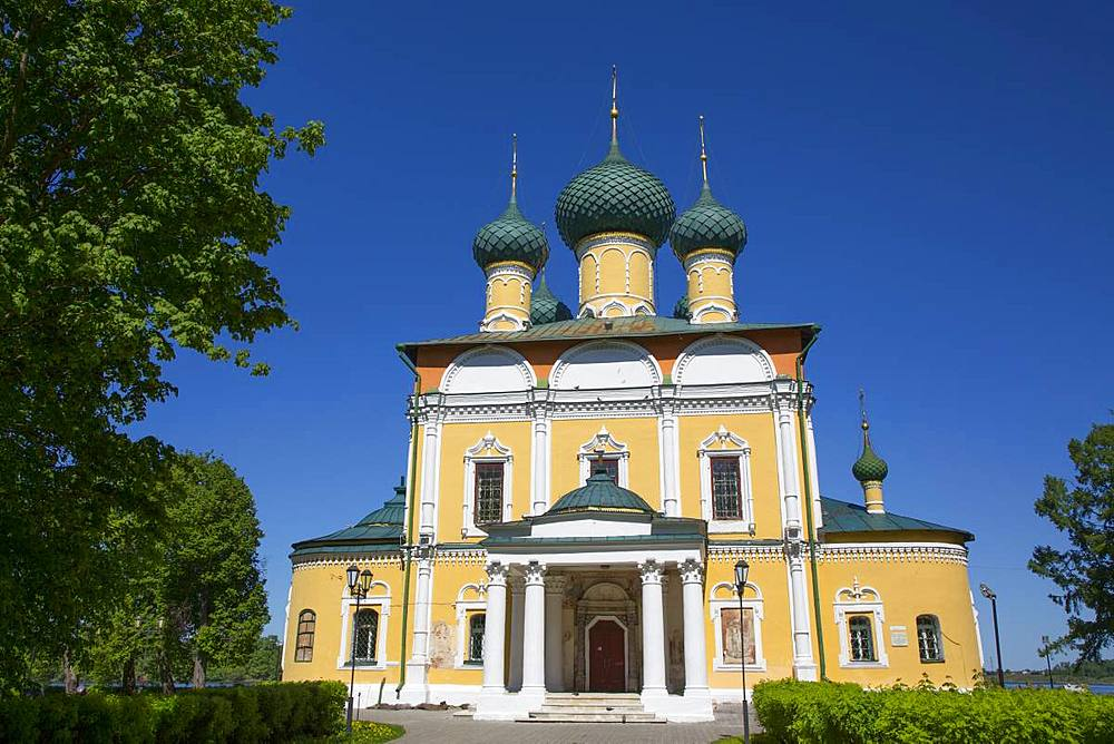 Transfiguration Cathedral, Uglich, Golden Ring, Yaroslavl Oblast, Russia, Europe