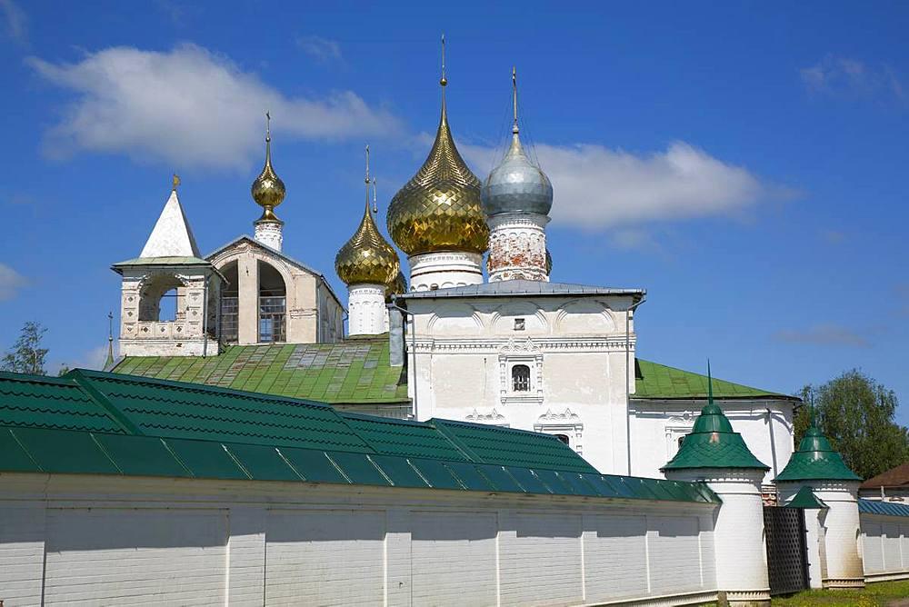 Resurrection Monastery, Uglich, Golden Ring, Yaroslavl Oblast, Russia, Europe - 801-2368