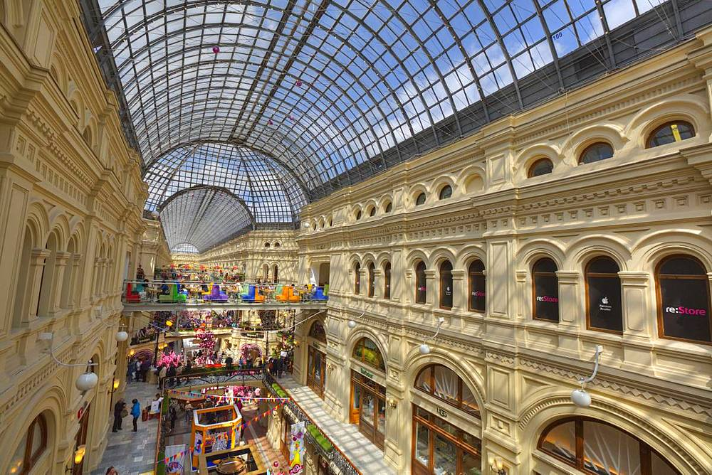 GUM Department Store, Moscow, Russia, Europe - 801-2371