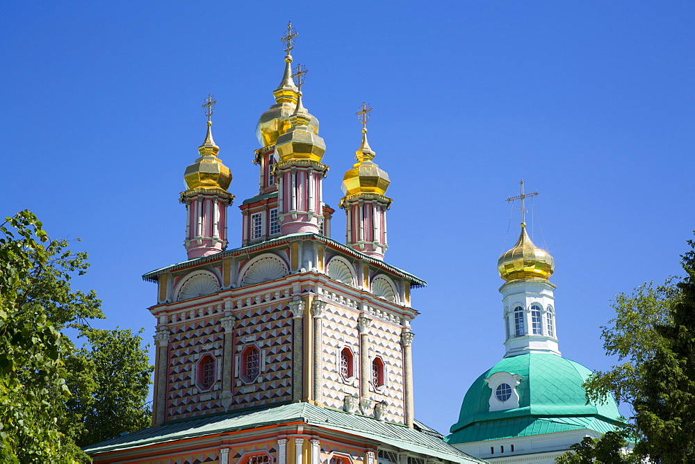 St. John the Baptist Church, The Holy Trinity Saint Sergius Lavra, UNESCO World Heritage Site, Sergiev Posad, Russia, Europe - 801-2394
