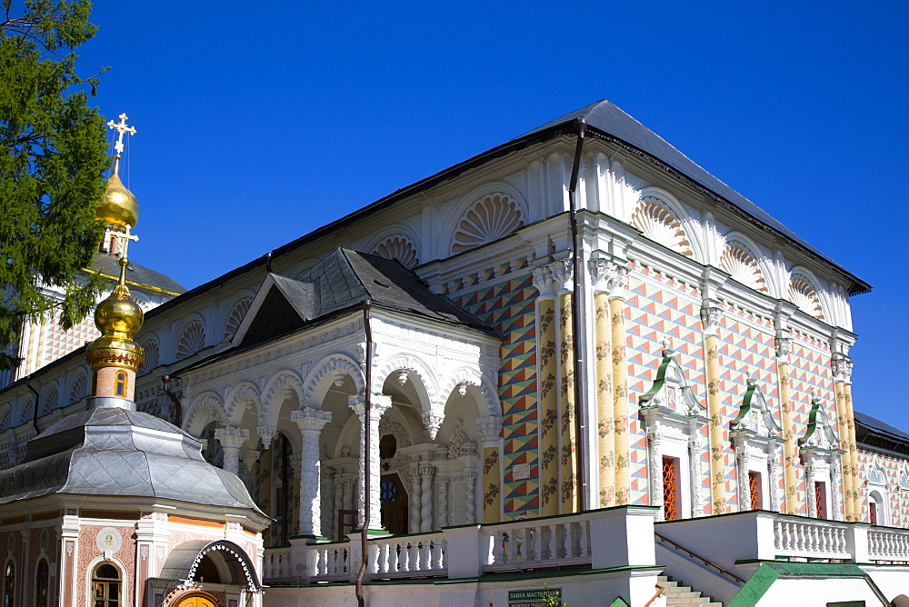 St Sergius Church, The Holy Trinity Saint Serguis Lavra, UNESCO World Heritage Site, Sergiev Posad, Russia - 801-2400