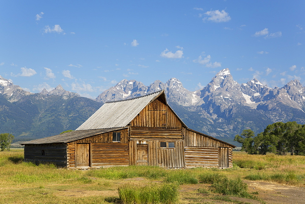 T. A. Moulton Barn, Mormon Row, Grand Teton National Park, Wyoming, United States of America, North America