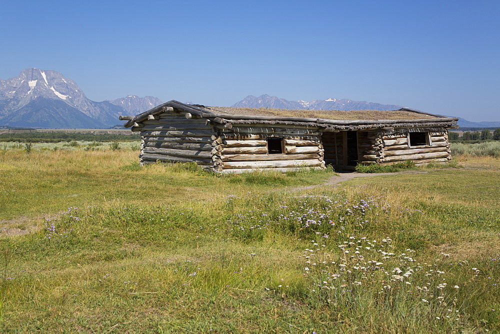 Cunningham Cabin, Grand Teton National Park, Wyoming, USA - 801-2422