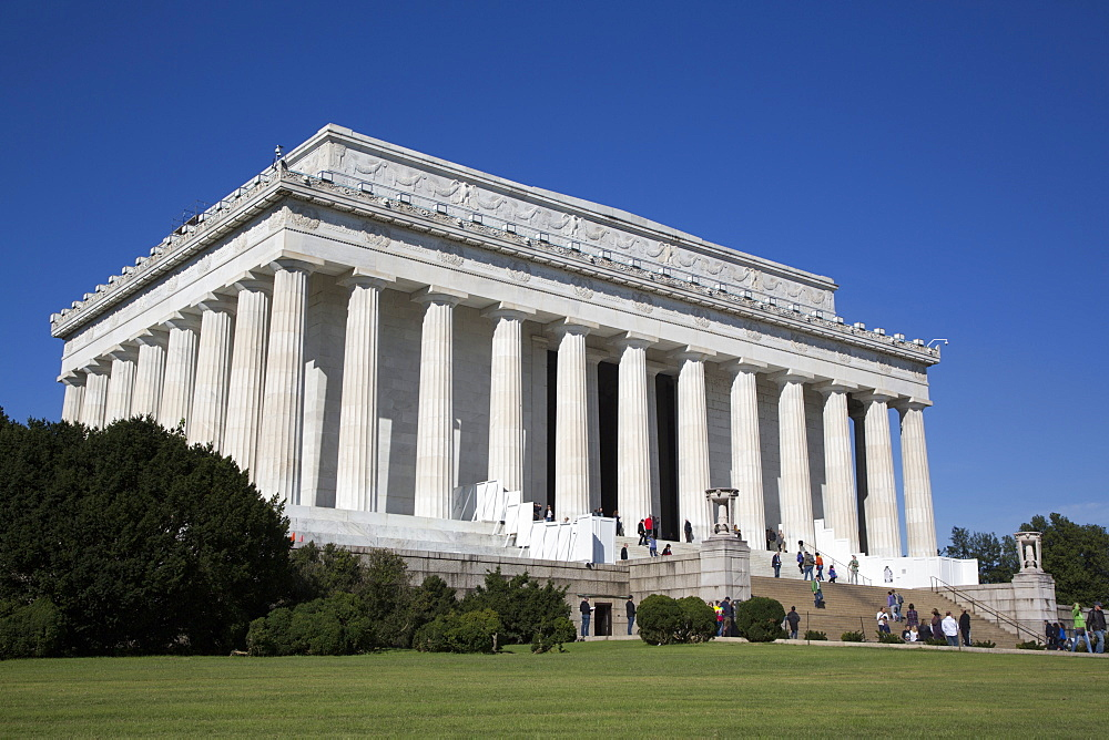 Lincoln Memorial, Washington D.C., United States of America, North America - 801-2434