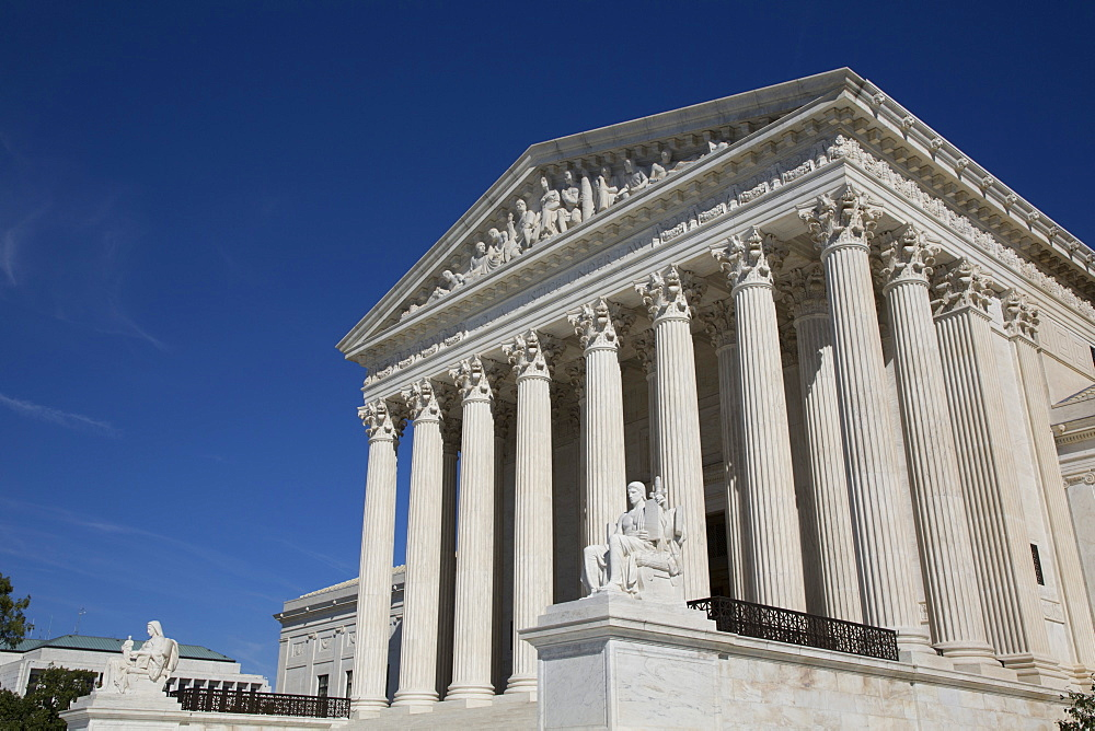 United States Supreme Court Building, Washington D.C., United States of America, North America - 801-2438