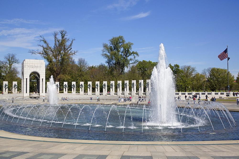 World War II Memorial, Washington D.C., United States of America, North America