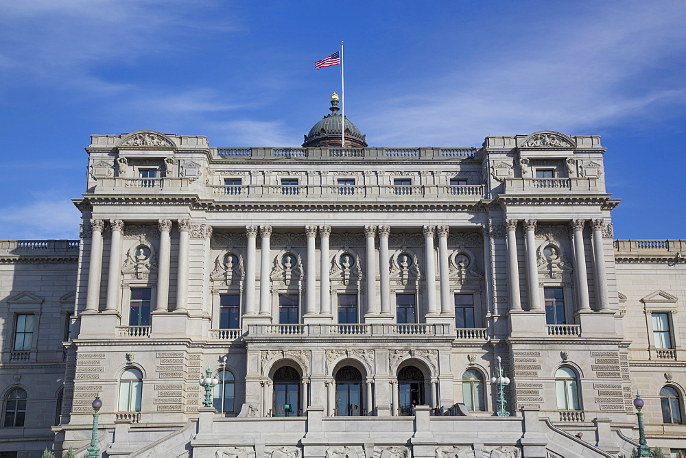 Library of Congress Building, Washington D.C., United States of America, North America - 801-2456