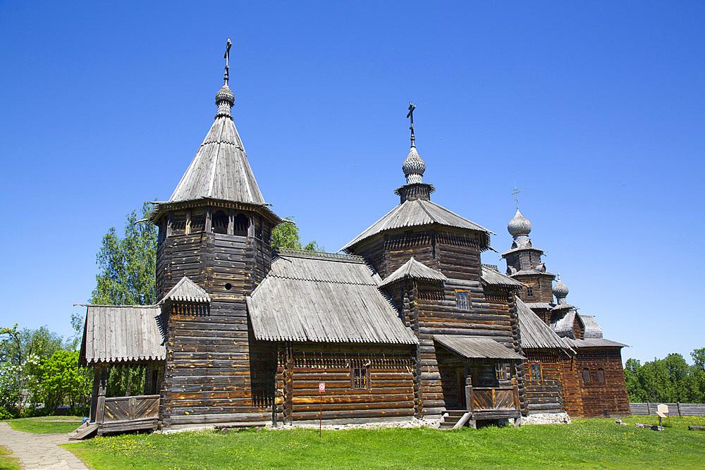 Museum of Wooden Architecture, Suzdal, Vladimir Oblast, Russia, Europe