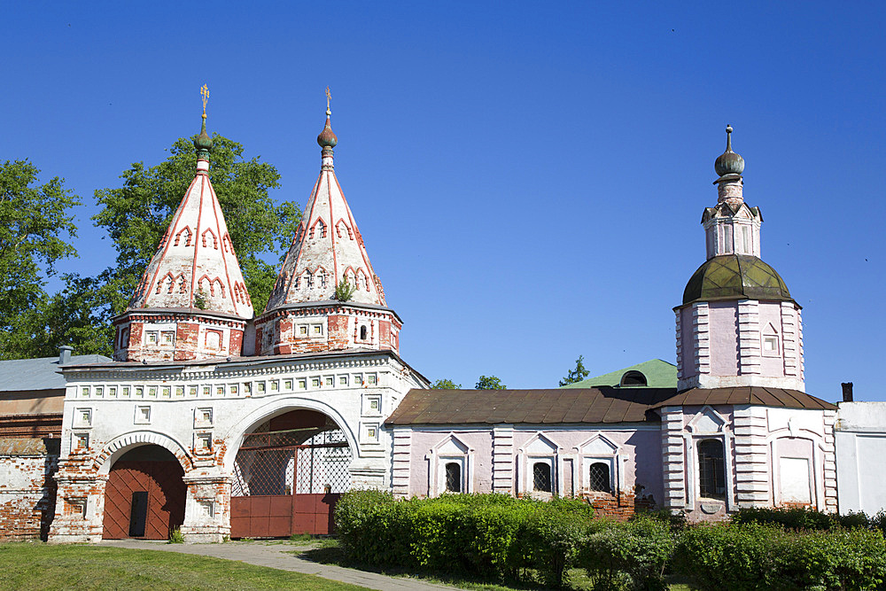 Disposition of the Robe (Rizopolozhensky) Convent, UNESCO World Heritage Site, Suzdal, Vladimir Oblast, Russia, Europe