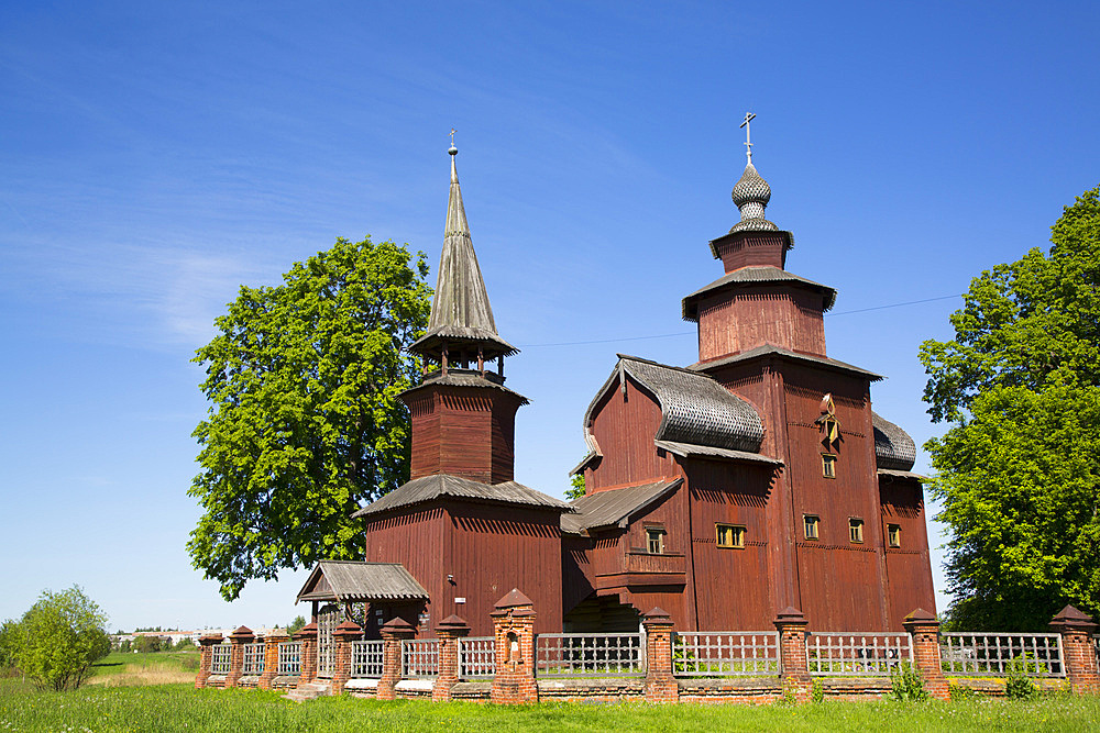 Church of St. John the Theologian built between 1687 and 1689, near Rostov Veliky, Golden Ring, Yaroslavl Oblast, Russia, Europe