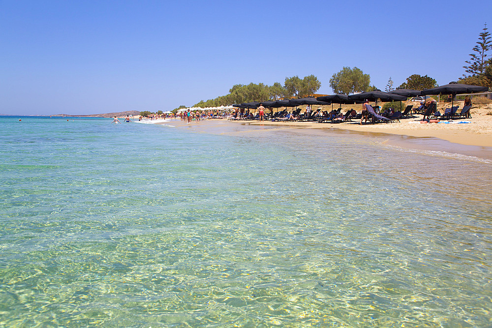 Plaka Beach, Naxos Island, Cyclades Group, Greek Islands, Greece, Europe