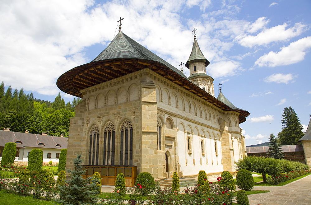 Putna Monastery, 1466, Putna, Suceava County, Romania, Europe