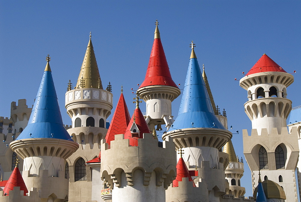 Excalibur Hotel, Las Vegas, Nevada, United States of America, North America - 801-571