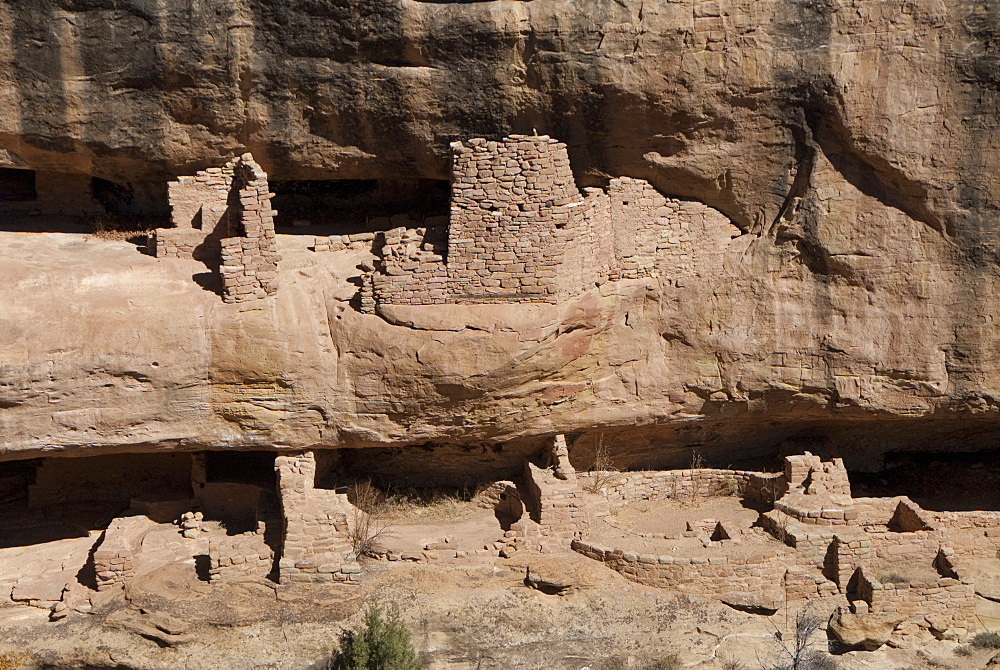 Mesa Verde National Park, Fire Temple, UNESCO World Heritage Site, Colorado, United States of America, North America