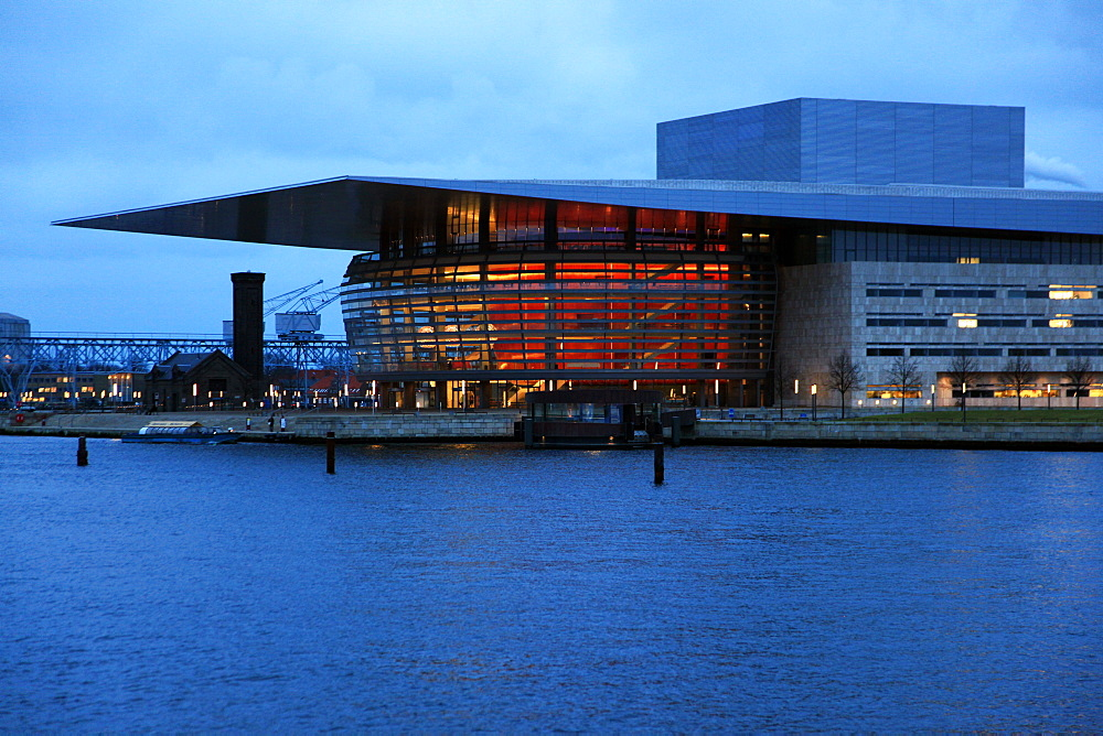 The Opera House, Copenhagen, Denmark, Scandinavia, Europe