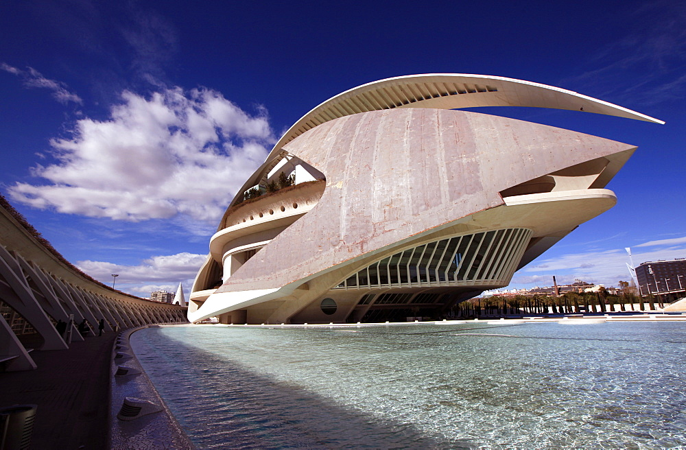 The City of Arts and Sciences, central Valencia, Valencia, Spain, Europe - 802-278
