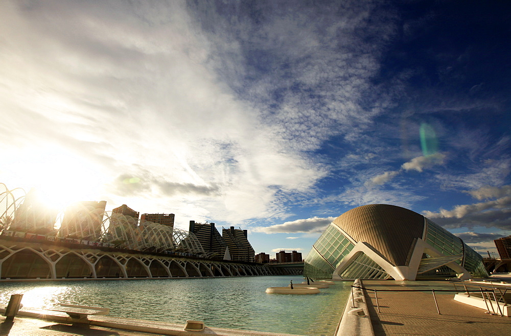 The City of Arts and Sciences, central Valencia, Valencia, Spain, Europe - 802-279