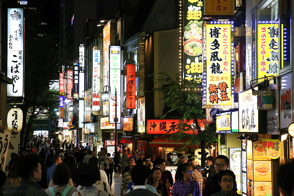 Shinjuku, central Tokyo, Japan, Asia - 802-314