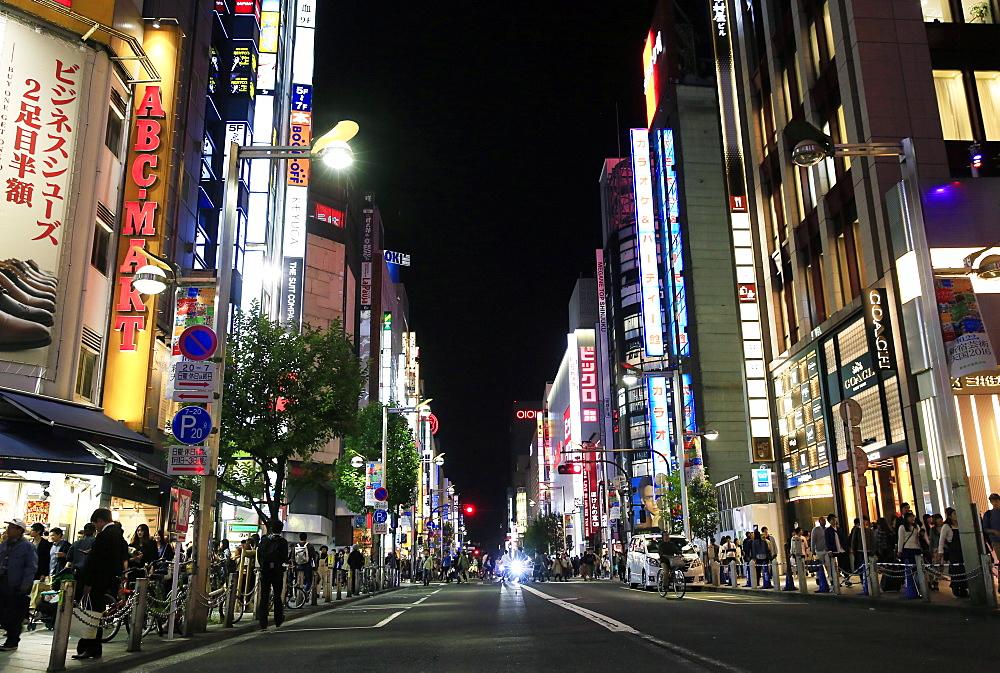 Shinjuku, central Tokyo, Japan, Asia - 802-315