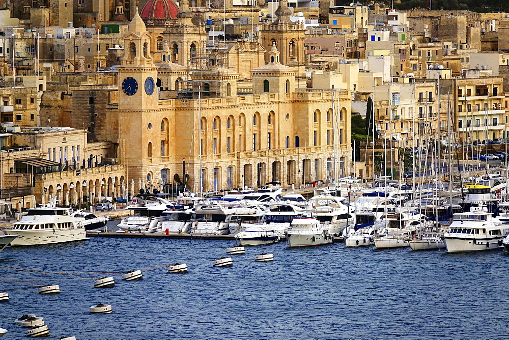 The Grand Harbour of Valletta, UNESCO World Heritage Site, Malta, Mediterranean, Europe