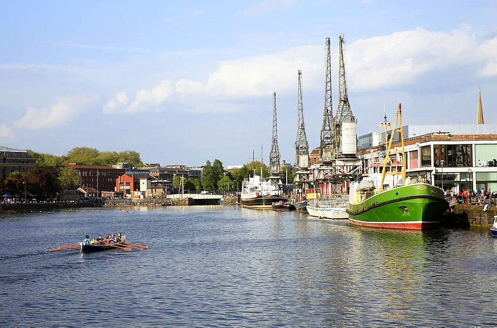 Bristol Harbourside, City of Bristol, England, United Kingdom, Europe - 802-489