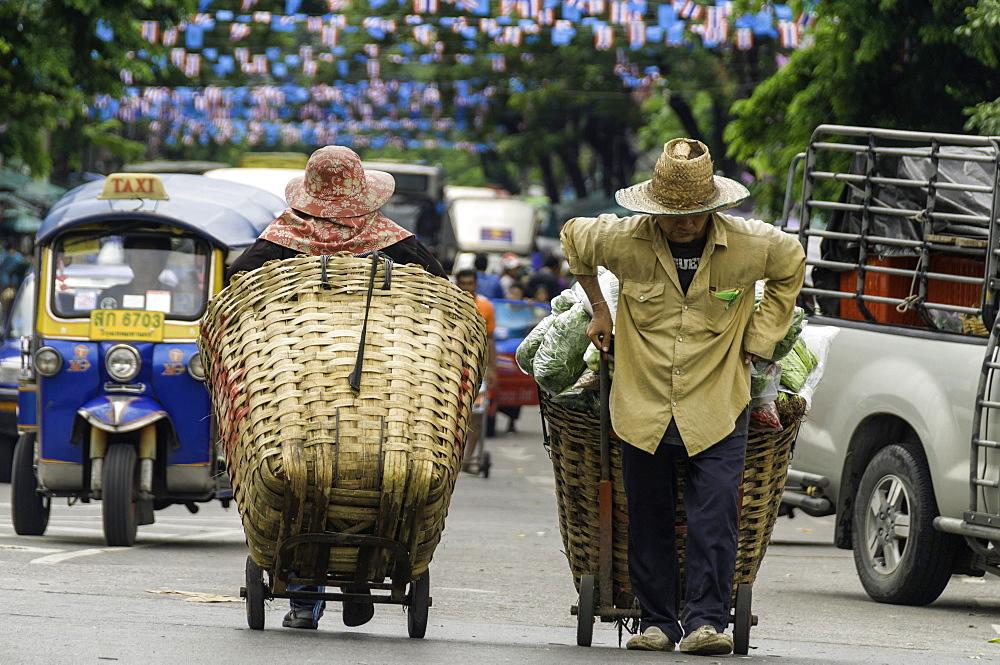 Transport in Bangkok, Thailand, Southeast Asia, Asia