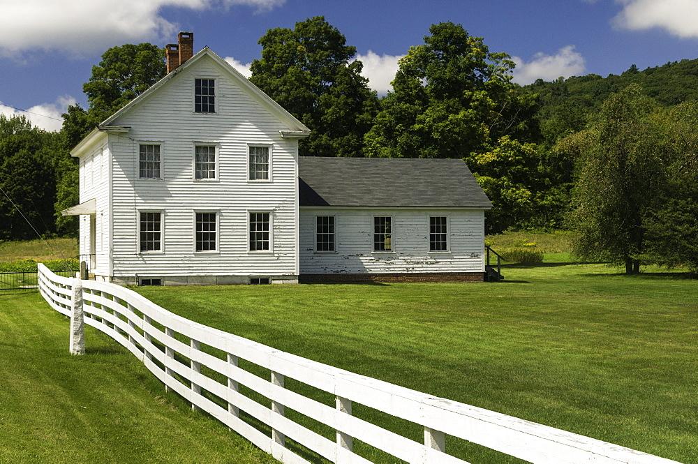 Hancock Shaker Village, Massachusetts, New England, United States of America, North America
