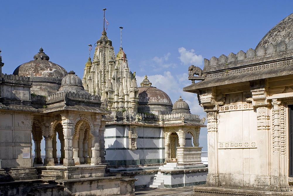 Jain Temples, Satrunjaya, Gujarat, India - 804-116