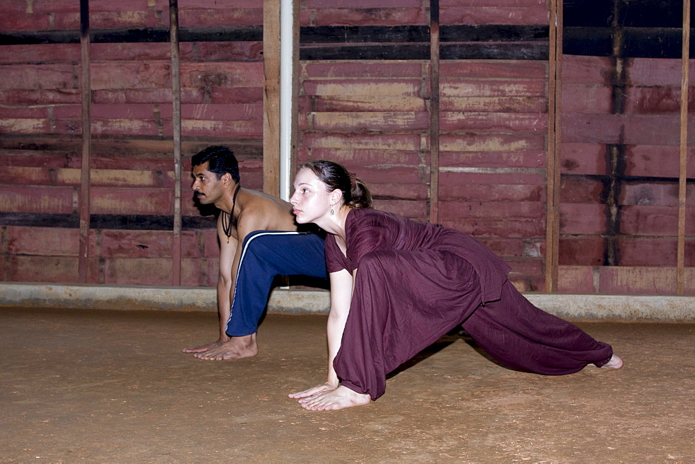 Kalaripayattu, martial art of Kerala, India, Asia