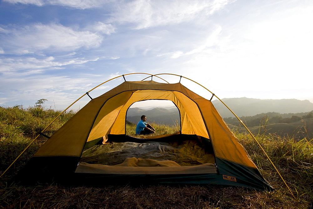 Camping, Meesapuli, Munnar, Kerala, India, Asia - 804-327