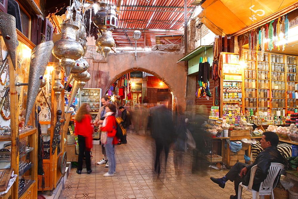 Medina, Marrakech, Morocco, North Africa, Africa - 806-241